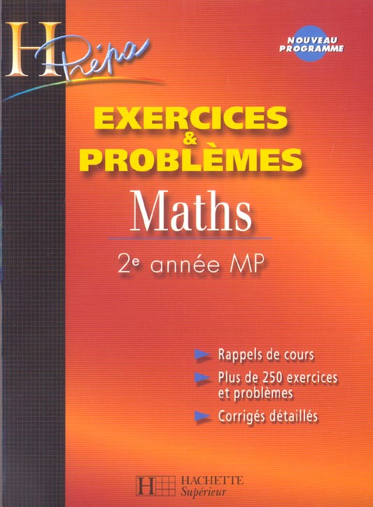 Maths 2e Annee Mp - Exercices Et Problemes
