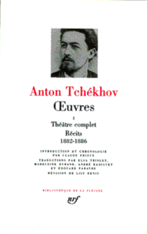 OEUVRES (TOME 1-THEATRE COMPLET - RECITS 1882-1886)