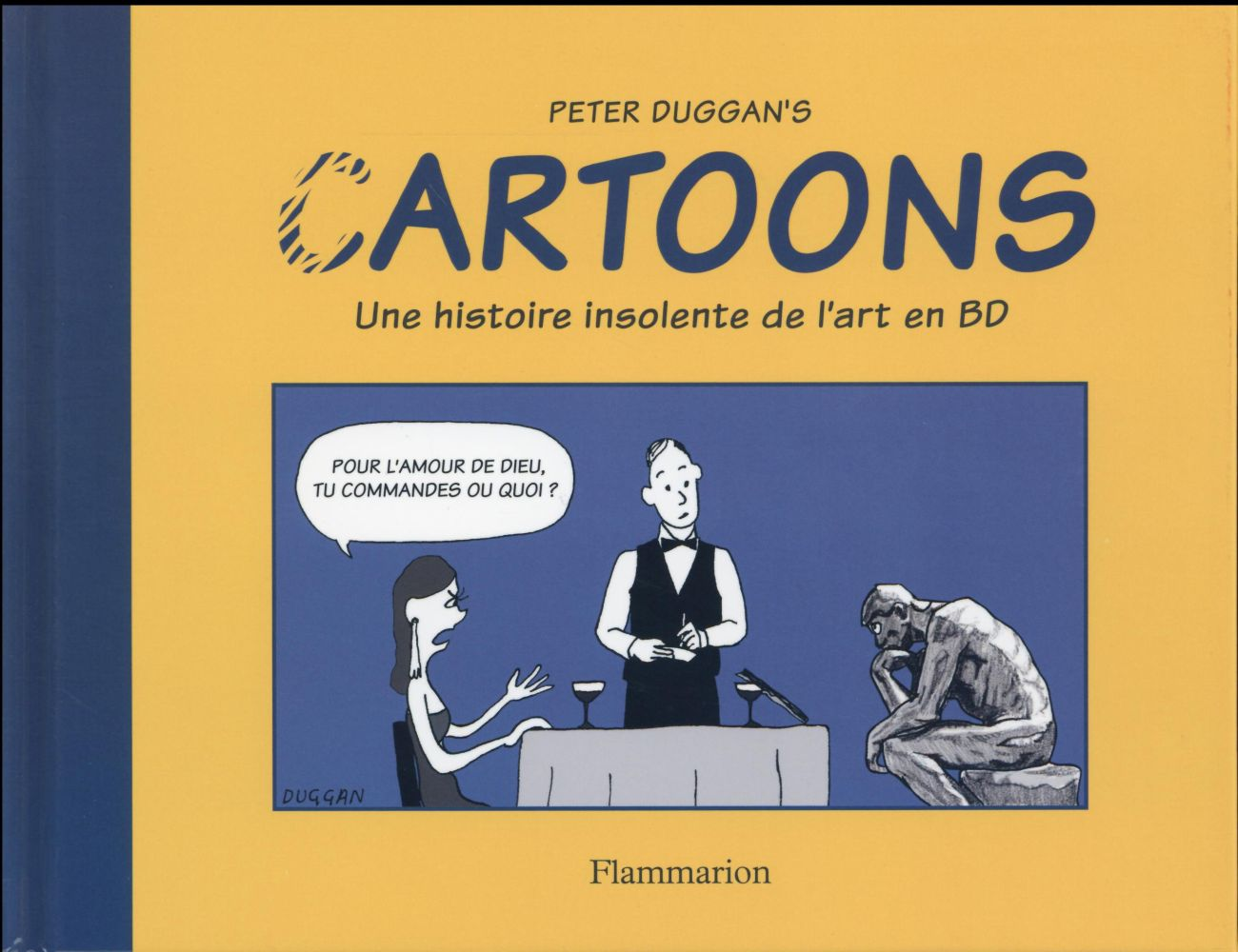 Cartoons, une histoire insolente de l'art en BD