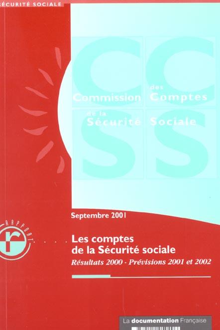 Les comptes de la securite sociale