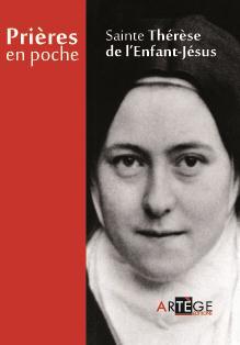 PRIERES EN POCHE ; sainte Thérèse de l'enfant Jésus