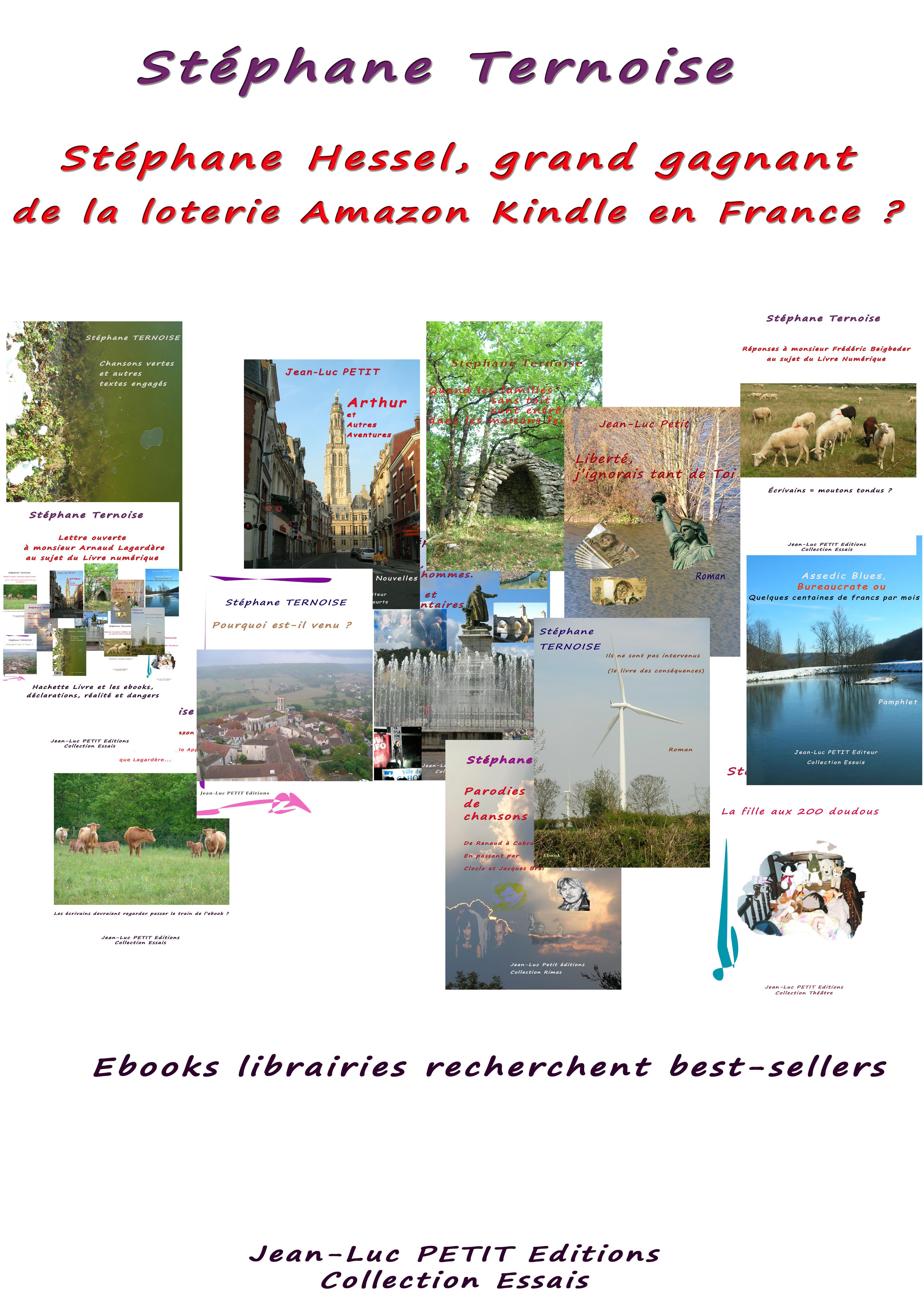 Stéphane Hessel, grand gagnant de la loterie Amazon Kindle en France ?