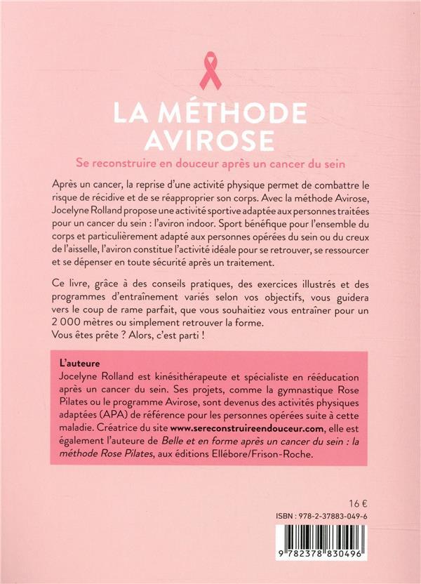 la méthode Avirose ; se reconstruire en douceur après un cancer du sein