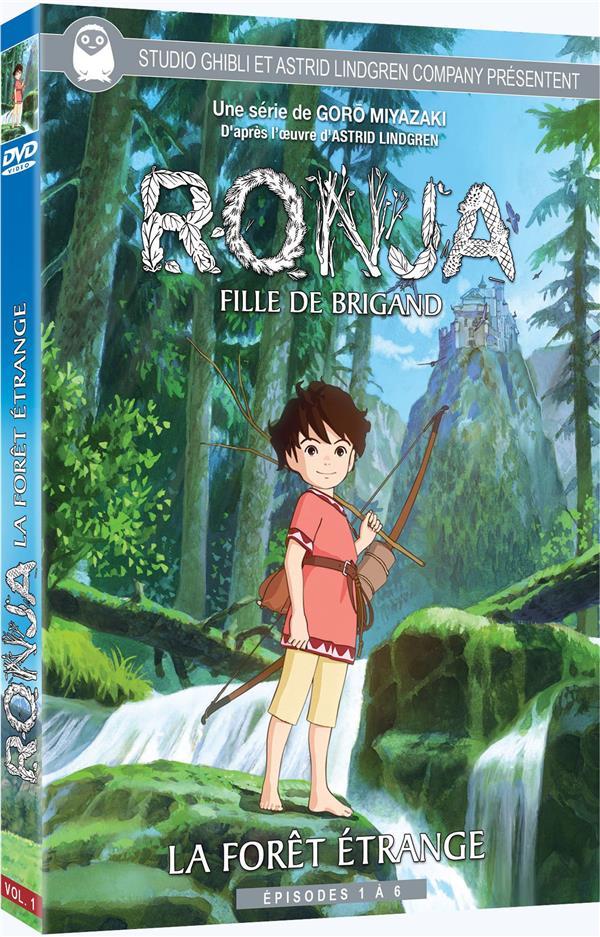 Ronja, fille de brigand - Vol. 1 - La Forêt étrange - Épisodes 1 à 6