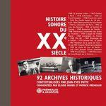 Vente AudioBook : Histoire sonore du XXe siècle  - Collectif
