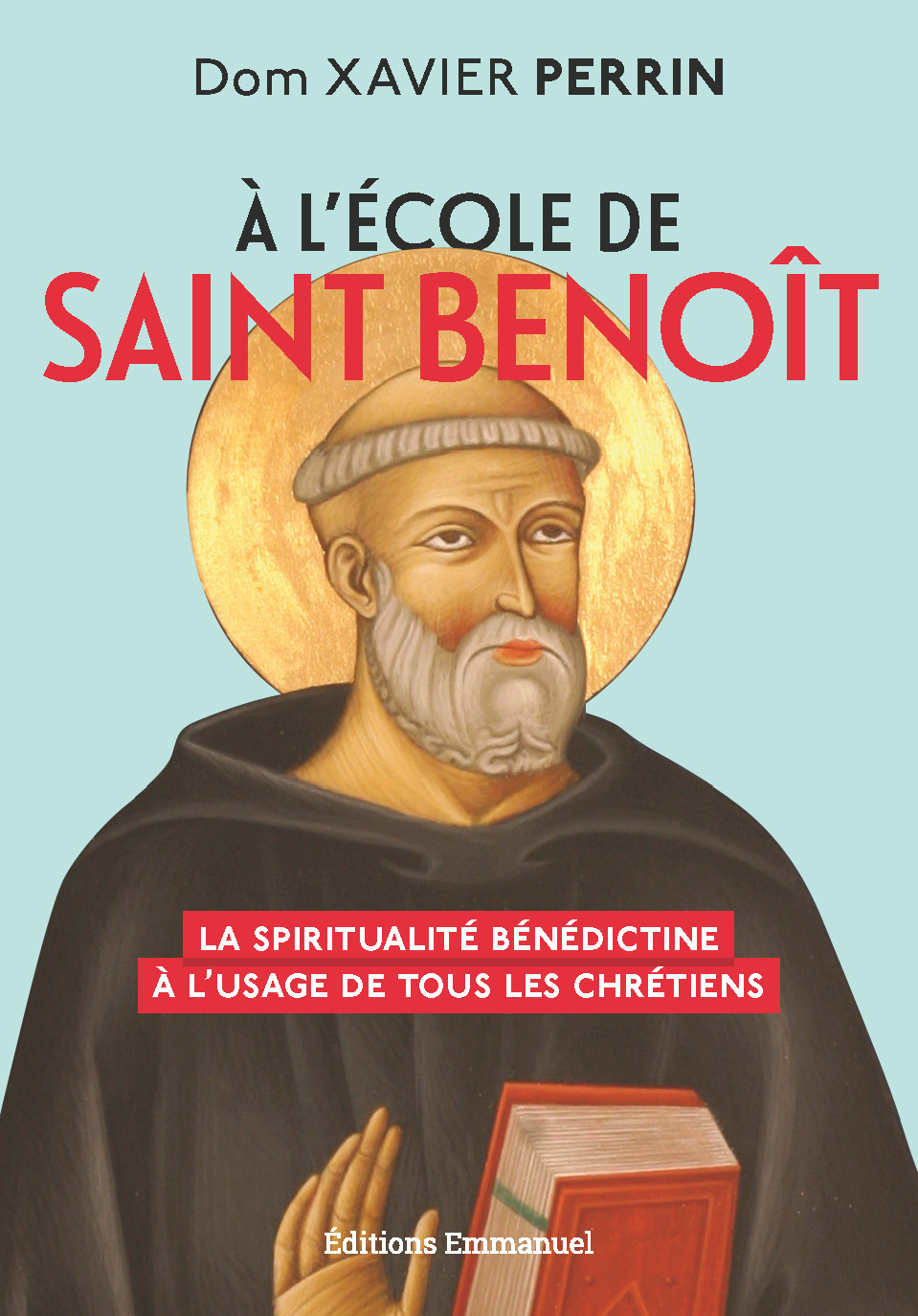 à l'école de saint Benoît