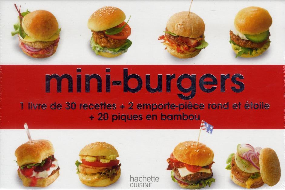 Mini-burgers ; mini-coffret