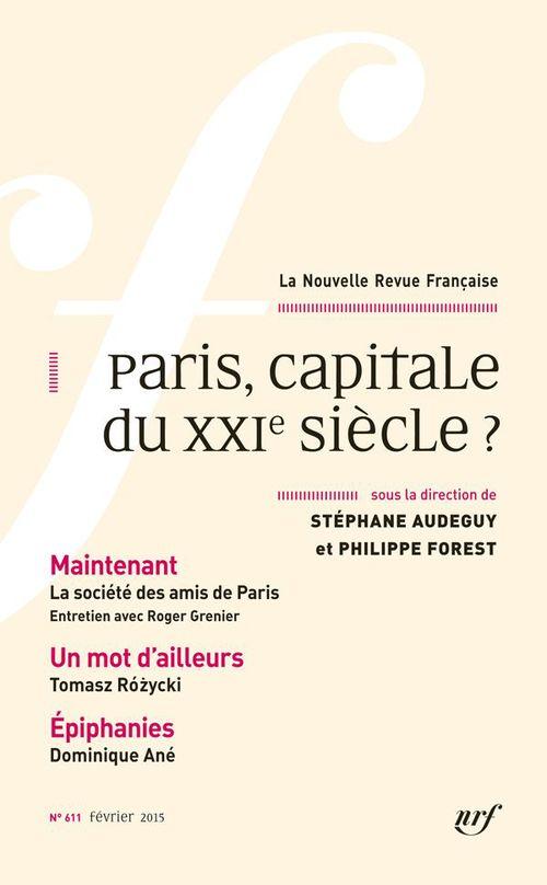 Paris, capitale du XXIe siècle ?
