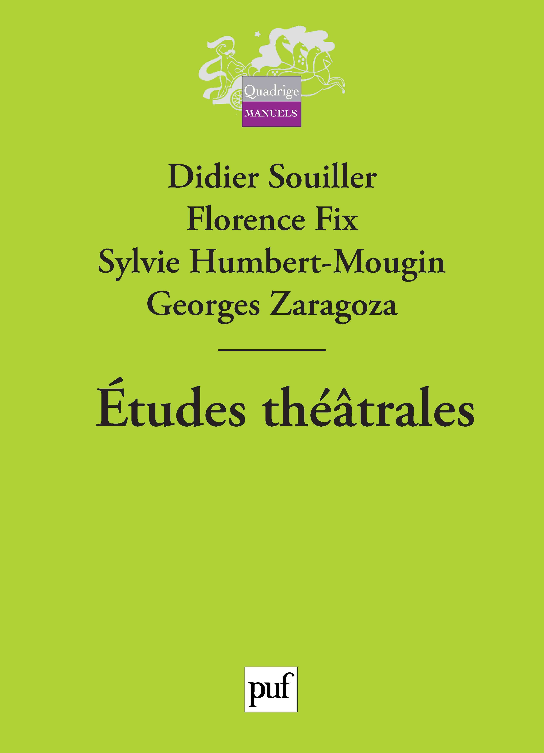 ETUDES THEATRALES