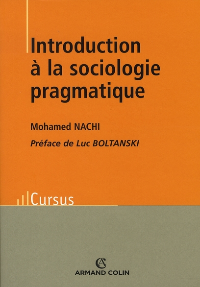 Introduction A La Sociologie Pragmatique