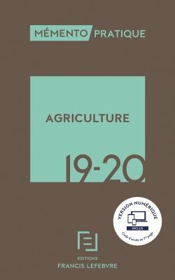 Mémento ; agriculture (édition 2019/2020)
