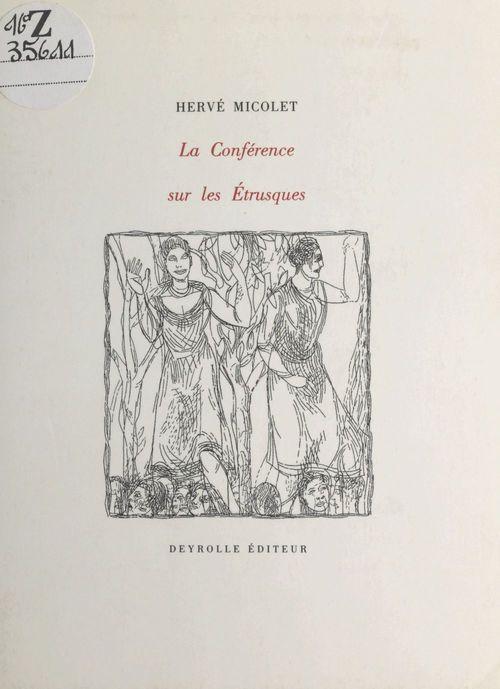 La conference sur les etrusques