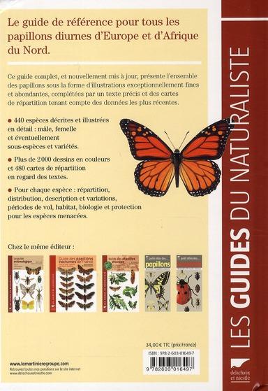 Guide des papillons d'Europe et d'Afrique du Nord
