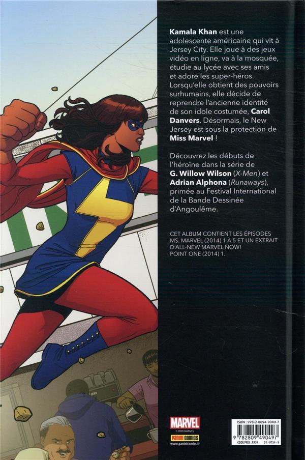 Miss Marvel ;  métamorphose