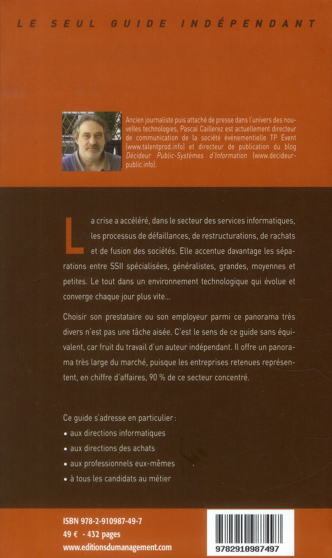 Le guide des SSII ; les 70 premières société de services informatiques (3e édition)