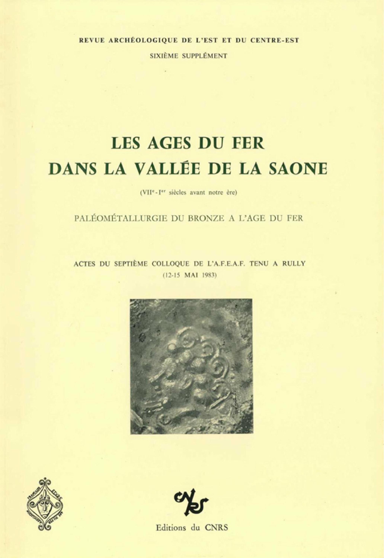 Les âges du fer dans la vallée de la Saône (VIIe-Iersiècles avant notre ère)