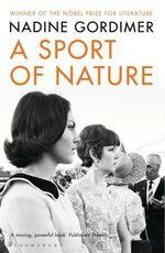 Vente Livre Numérique : A Sport of Nature  - Nadine Gordimer