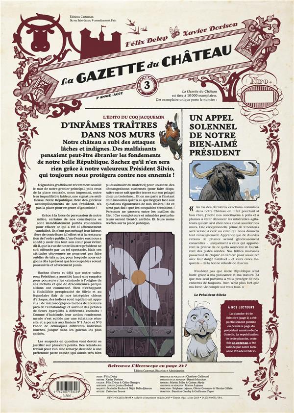 Le chateau des animaux ; la gazette des animaux n.3