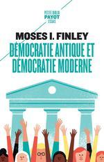 Couverture de Démocratie antique et démocratie moderne