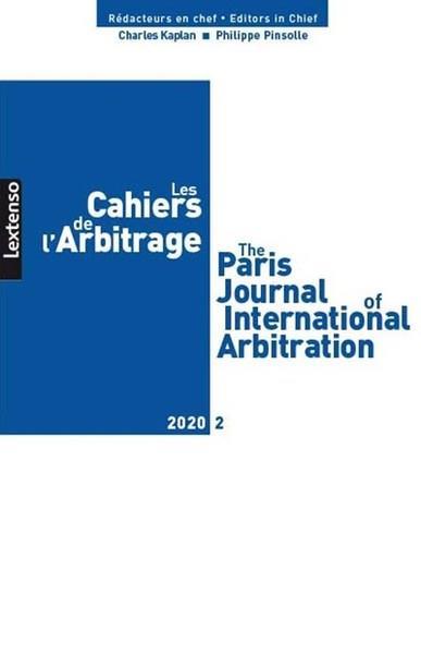 Les cahiers de l'arbitrage n.2020/2