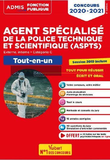 CONCOURS AGENT SPECIALISE DE LA POLICE TECHNIQUE ET SCIENTIFIQUE (ASPTS)