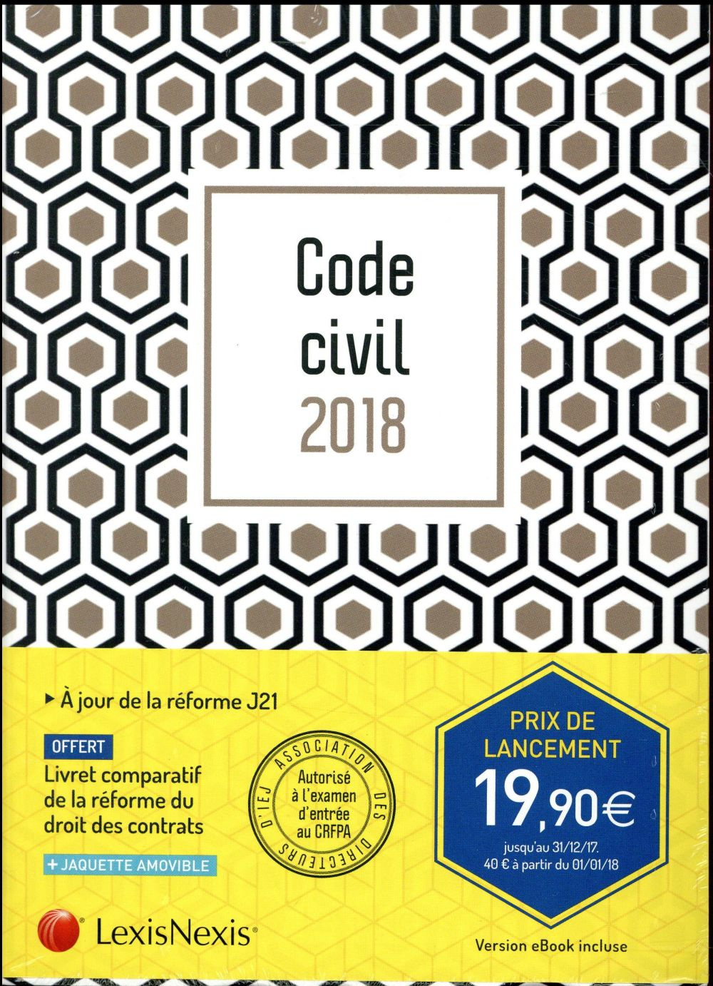 Code civil (édition 2018)
