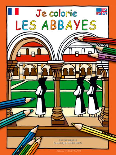 JE COLORIE ;  les abbayes