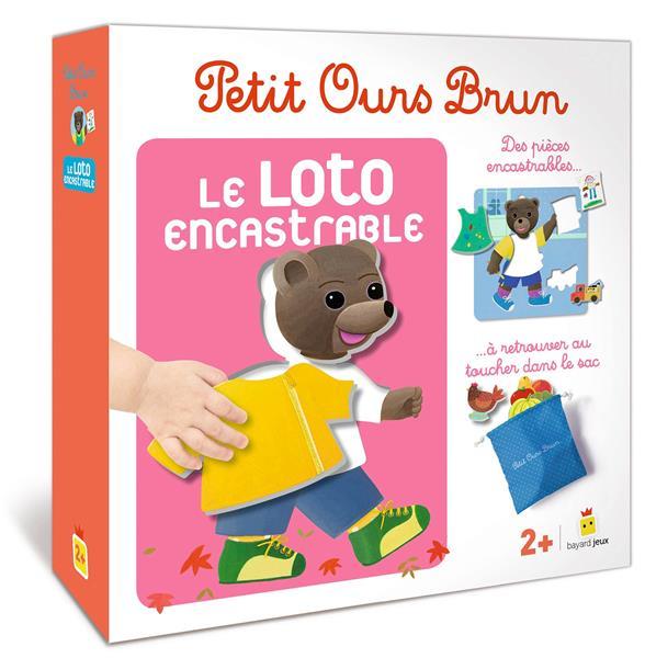 Petit Ours Brun ; le loto encastrable