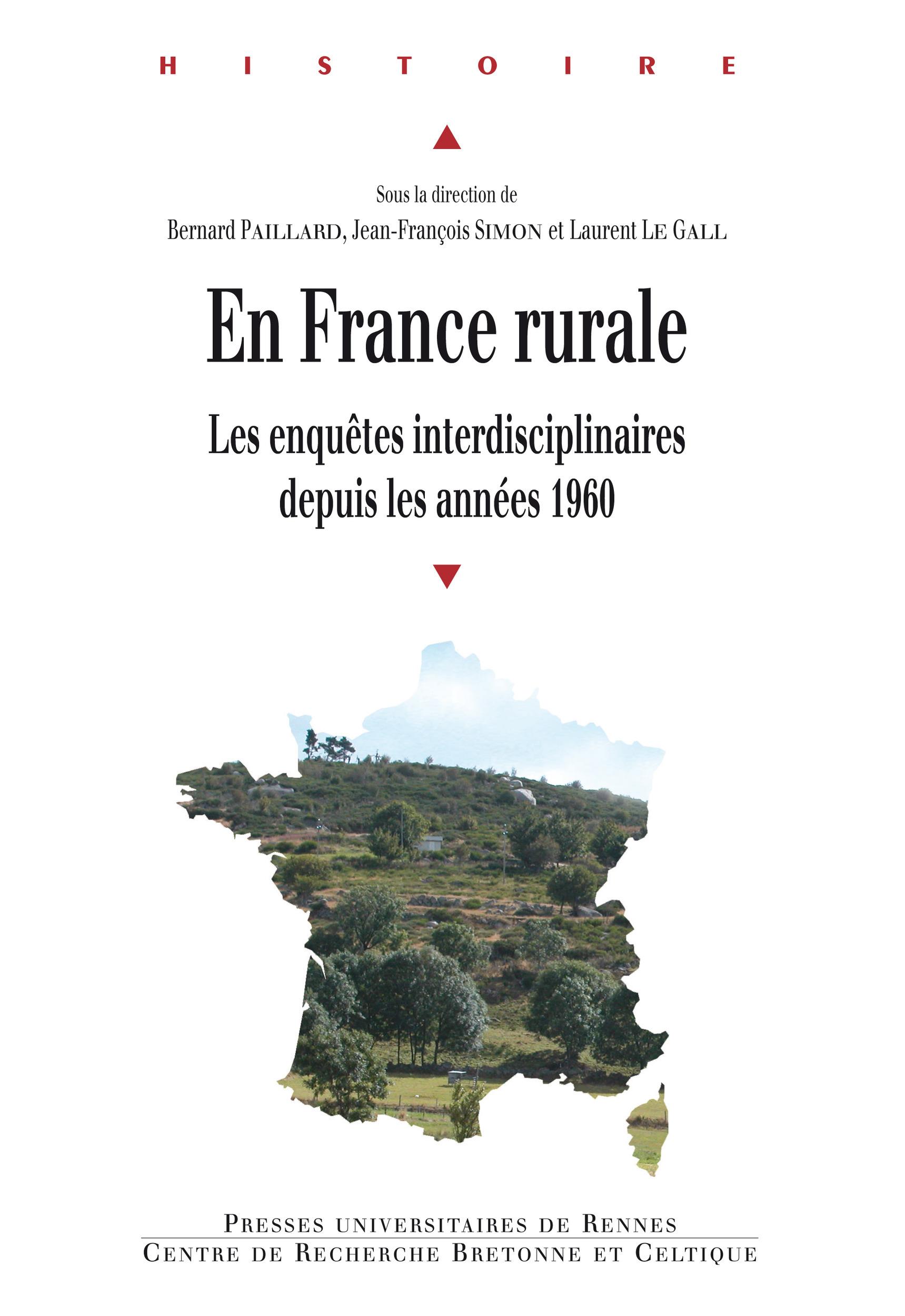 En France rurale  - Bernard Paillard  - Laurent Le gall  - Jean-François Simon
