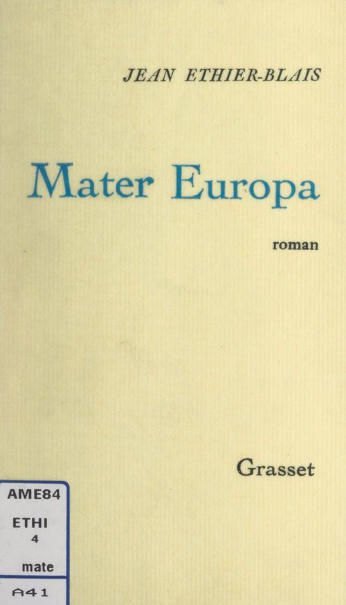 Mater Europa