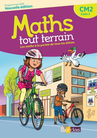 MATHS TOUT TERRAIN ; CM2 ; fichier de l'élève (édition 2018)