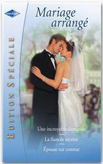 Vente Livre Numérique : Mariage arrangé (Harlequin Edition Spéciale)  - Jennie Adams - Catherine Spencer - Julia James