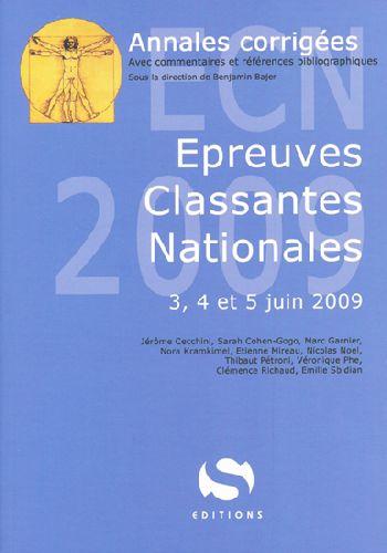 Annales corrigées ecn 2009