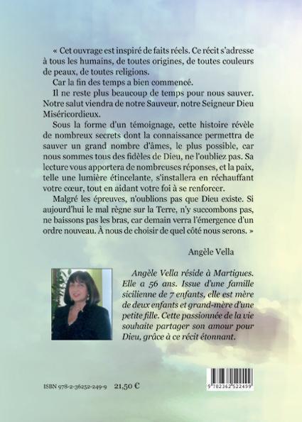 Angelina avec ses anges messagers de Dieu