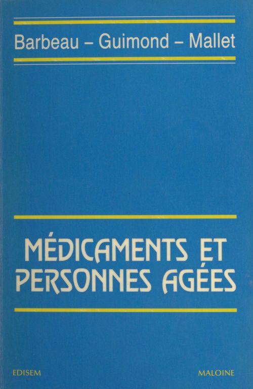 Médicaments et personnes âgées