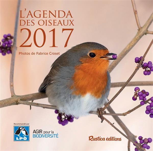 L'agenda des oiseaux 2017