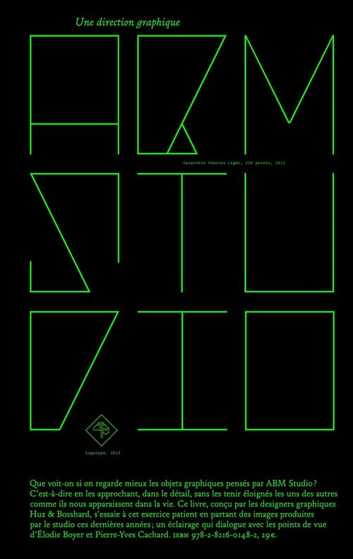 ABM Studio. Une direction graphique