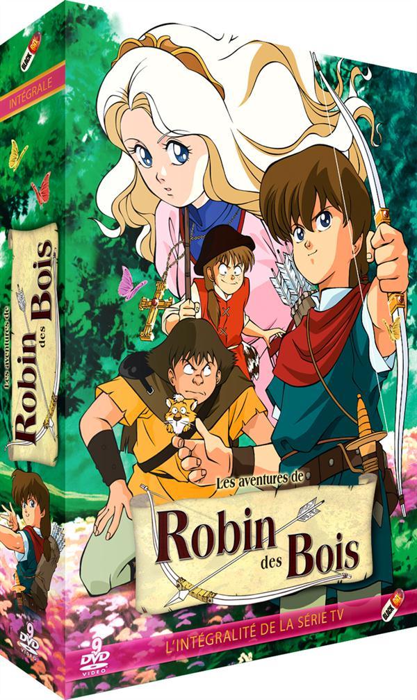coffret intégrale Robin des bois