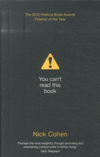you can't read this book ; censorship in an age of freedom