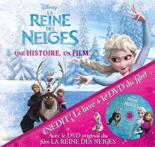 La Reine Des Neiges ; Une Histoire, Un Film
