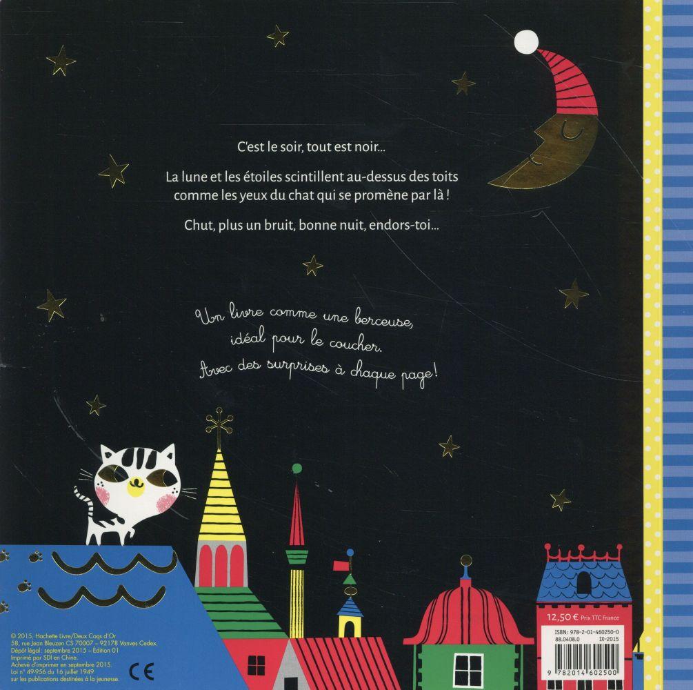 Un livre à trous ; bonne nuit, petit chat !