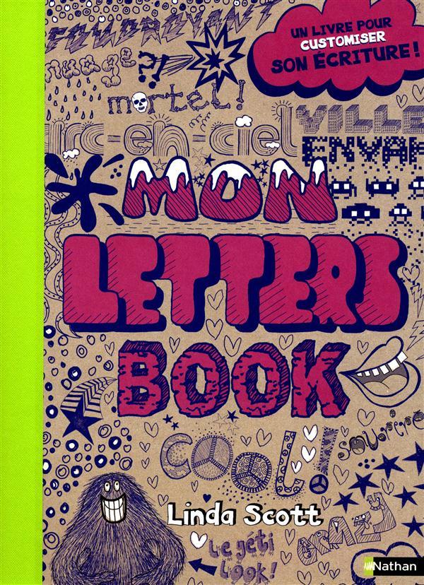 Mon letters book ; un livre pour customiser son écriture !