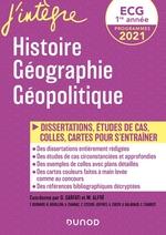 Vente Livre Numérique : ECG 1re année - Histoire Géographie Géopolitique - 2021  - Olivier Sarfati - Hugo Billard - Frédéric Encel - Frédéric Bernard - Matthieu Alfré