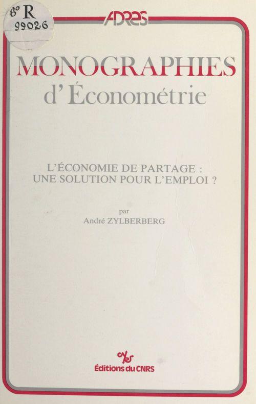 L'économie de partage : une solution pour l'emploi ?