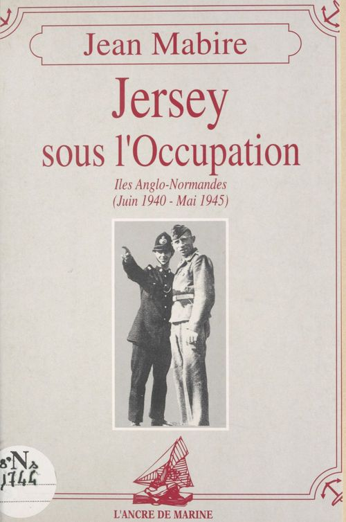 Jersey sous l'occupation