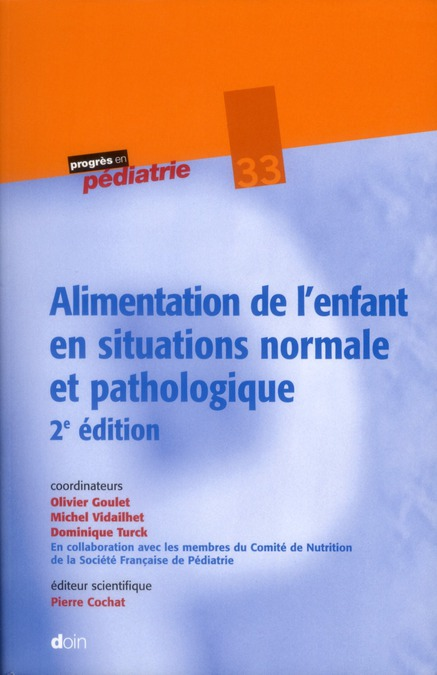 Alimentation De L'Enfant En Situation Normale