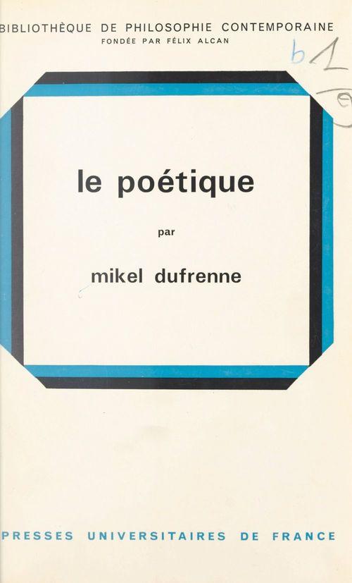 Le poétique