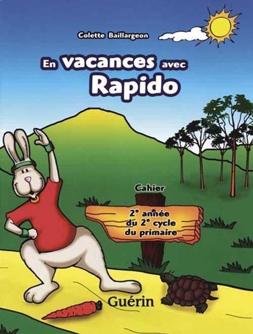 En vacances avec rapido ; cahier de revision ; 4e annee ; cm1