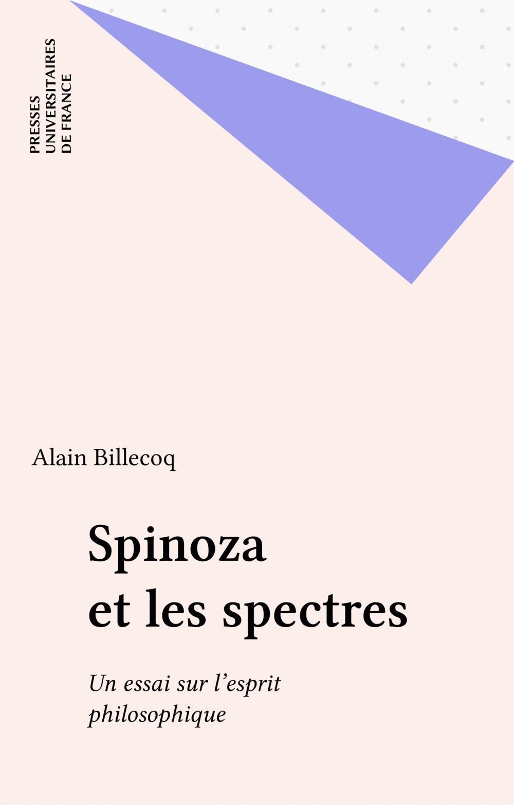 Spinoza et les spectres