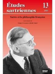 Etudes sartriennes t.13; sartre et la philosophie francaise